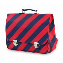 Cartable large Stripe Navy