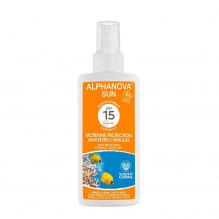 Lait solaire BIO - moyenne protection SPF 15 - 125 g