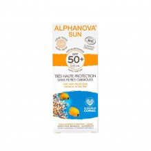 Crème solaire BIO teinté claire - très haute protection SPF 50 - 50 g