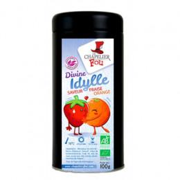 Divine Idylle - Infusion fraise orange bio
