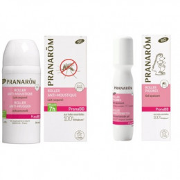 Promo duo PranaBB moustiques - Gel + roller