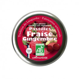 Pastilles Fraise Gingembre - 45 g