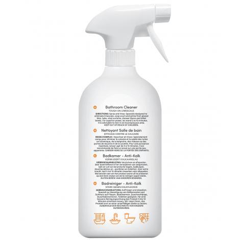 Spray nettoyant anti-calcaire pour salle de bain - Citron zeste - 800 ml