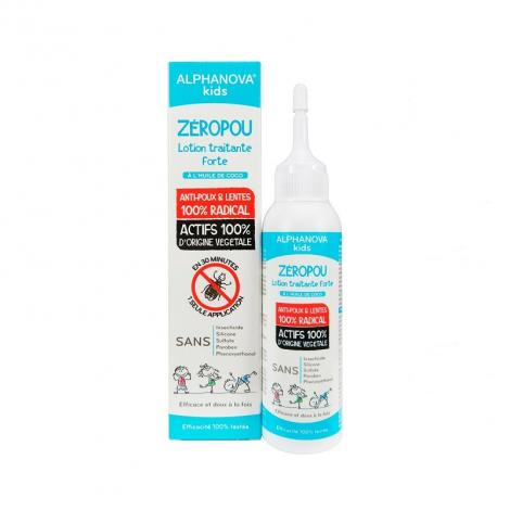Zéropou Lotion traitante forte contre les poux et les lentes - 100 ml