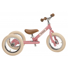 Trybike 2-en-1 vintage rose - tricycle
