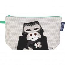 Trousse à soufflets en coton Bio - Gorilles