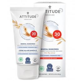 Crème solaire SPF 30 sans parfum peau sensible 150 g