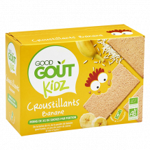 Croustillants - Banane - 110 g