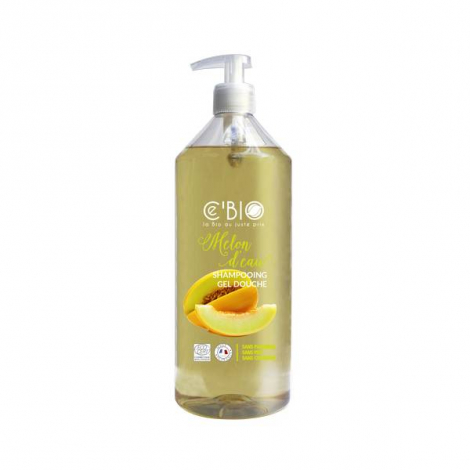 Bain et douche Bio Melon d'eau - 1 litre