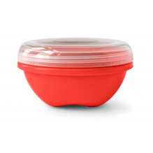 Boîte de conservation en matériaux 100 % recyclés - 750 ml - Rouge
