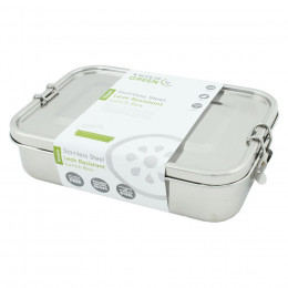 Boîte rectangulaire lunch box en inox - Yanam - 1100 ml