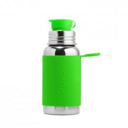 Gourde en inox - modèle sport - 550 ml - Vert