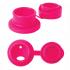 Gourde bouteille en inox - modèle sport - 550 ml - Pink Swirl