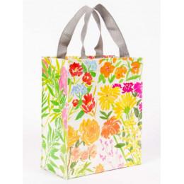 Petit cabas en matériaux recyclés - Flower garden