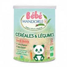 Céréales et légumes - dès 6 mois - 400 g