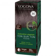 Soin colorant végétal en poudre - 101 noir intense