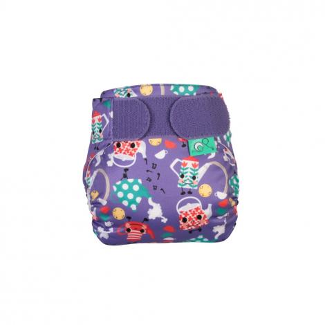 Couche lavable TE1 TeenyFit  V4 - nouveau-né - motif Little Teapot