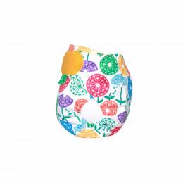 Couche lavable TE1 TeenyFit  V4 - nouveau-né - motif Dandy