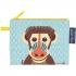 Mini trousse - porte monnaie en coton BIO - Mandrill