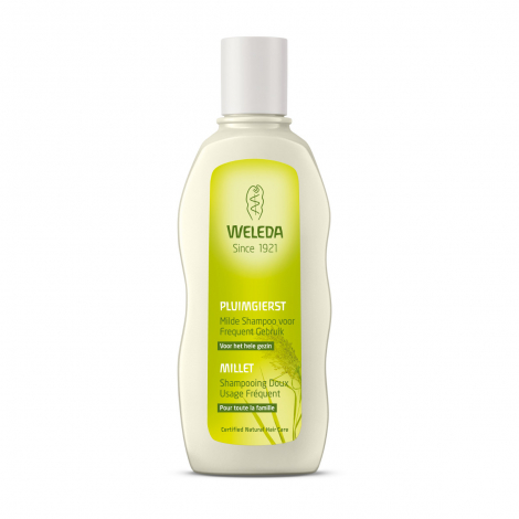 Shampooing doux usage fréquent Millet - 190 ml