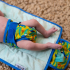 Couche lavable Pop-In Nouveaux Nés avec insert en bambou - Perroquets