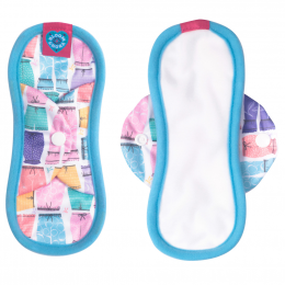 Serviette hygiènique lavable Nora - Mini - Amelia