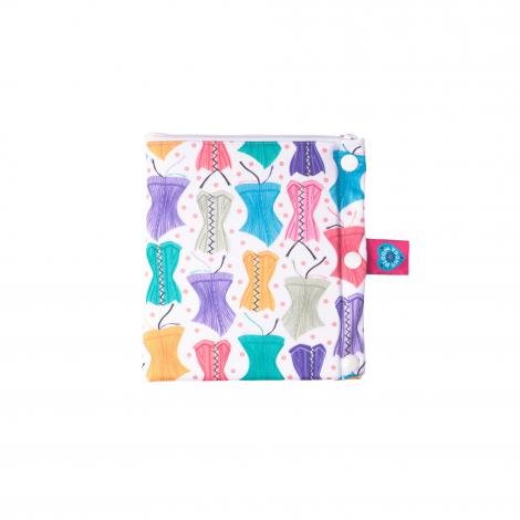 Pochette de transport hygiénique - Bloom & Nora - 2 compartiments - Hourglass