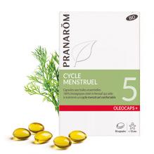 Oleocaps + BIO N°5 - Cycle menstruel - 30 capsules - A partir de 12 ans