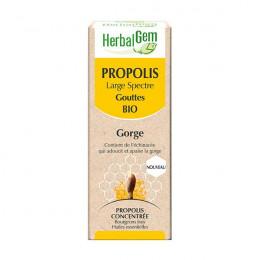 Propolis Bio à large spectre - Gorge - Gouttes 50 ml