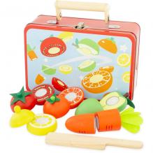 Malette fruits et légumes à découper - à partir de 3 ans