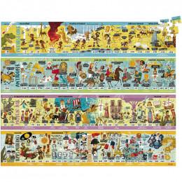 Puzzles frise historique - 4 puzzles - à partir de 7 ans