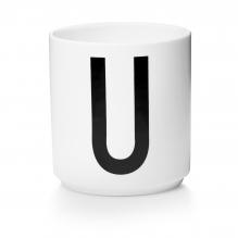 Tasse en porcelaine U
