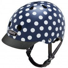 Casque vélo - Street - Navy Dots - L
