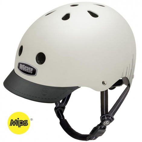 Casque vélo - Street - Silver Wavelength - MIPS - M