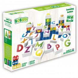 27 blocs de construction ECO - les lettres - à partir de 18 mois