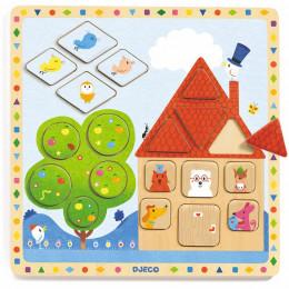 Puzzle éducatif Ludigeo