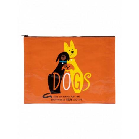 Grande trousse en matériaux recyclés - Dogs