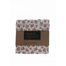 Pochette en coton à collations - 14 x 14 cm - Feuilles d'automne
