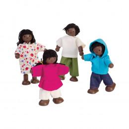 Famille de poupée en bois - à partir de 3 ans - 7416