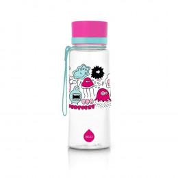 Gourde sans BPA 600 ml - Monstres roses