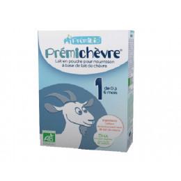 Prémichèvre 1 - Lait de chèvre Bio pour nourrissons de 0 à 6 mois - 600 g