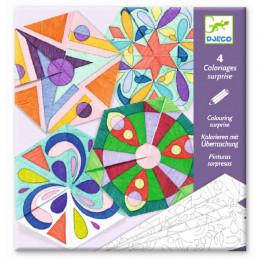 Coloriage surprise - Mandalas - Rosaces