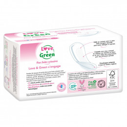 Serviettes fuites urinaires - Normal - 12 pièces