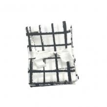 3 Mouchoirs lavables et réutilisables de 38 cm - Misty Checks