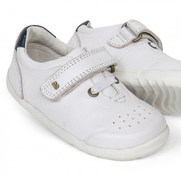 Chaussures Step Up - 730205 Ryder White + Navy
