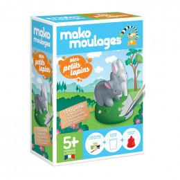 Figurine  à mouler et à décorer - Mes petits lapins - à partir de 5 ans