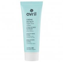 Crème de nuit BIO - peaux normales et mixtes - 50 ml