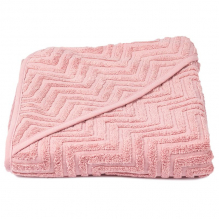 Cape de bain Zigzag - Rose