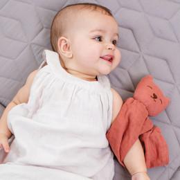 Doudou Mila tétra - framboise - dès la naissance