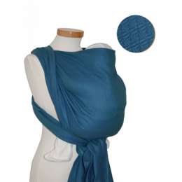 Echarpe porte-bébé - Leo turquoise